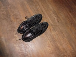 Joop! Basket à lacet brun noir cuir