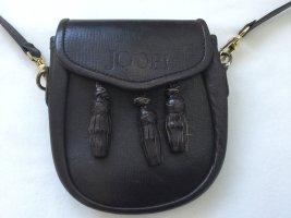 Joop Tasche Handtasche klein Leder braun Gürteltasche ausgefallen
