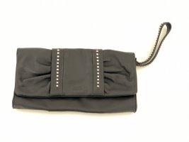 JOOP! Tasche schwarz aus Leder; Clutch mit Nieten
