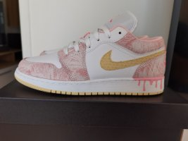Air Jordan Sznurowane trampki biały-różowy