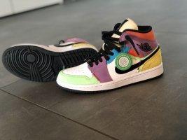 Air Jordan Sneakers met veters sleutelbloem