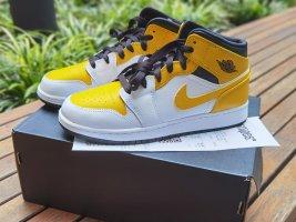 Air Jordan High top sneaker wit-goud
