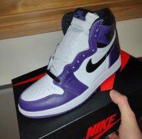 Jordan 1 purple