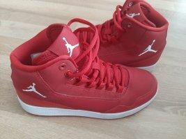 Air Jordan Lace-Up Sneaker brick red