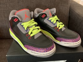 Jordan Air schwarz/neon