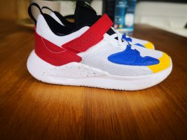 Air Jordan Zapatillas con hook-and-loop fastener multicolor