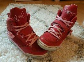 Air Jordan Basket montante rouge-rose