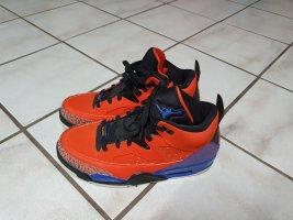 Air Jordan Sznurowane trampki pomarańczowy-niebieski