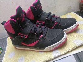 Air Jordan Zapatillas altas rosa