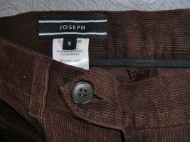 Joseph Pantalone di velluto a coste marrone-marrone-nero Cotone