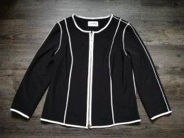 *Joseph Ribkoff* hochpreisiger Blazer / schwarz mit weißen Streifen / Gr. 42 – NP 215,00€