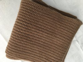 Joseph Knitted Scarf camel wool