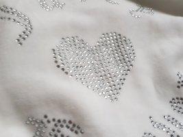 Juicy Couture Kurtka dresowa srebrny-w kolorze białej wełny