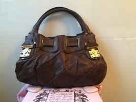 Juicy Couture Leder Handtasche in braun