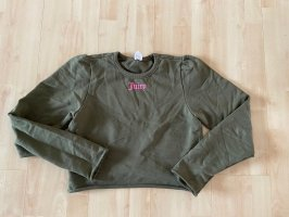 Juicy Couture Pull court gris vert-rose