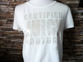 Juicy Couture Shirt mit silber Print 42