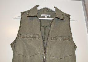 Abercrombie & Fitch Kurzer Jumpsuit olijfgroen-groen-grijs