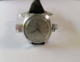 Junghans Self-Winding Watch black-silver-colored