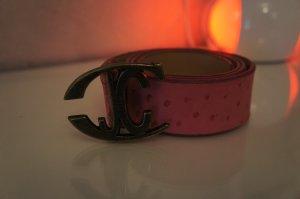 Just cavalli Belt pink leather