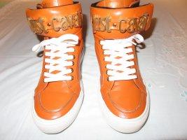 Just Cavalli Sneaker in schönem Orange , Größe 39 . WIE NEU !!!