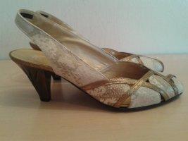 K + S Studio Vintage Sandalette Schlangenprint wie NEU
