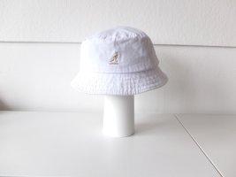 Kangol Sombrero de cubo blanco Algodón