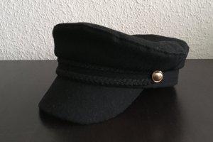Zara Cappello da panettiere nero-sabbia Poliestere