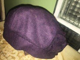 Diefenthal Chapeau en laine violet foncé
