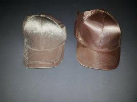Asos Baseball Cap dusky pink mixture fibre