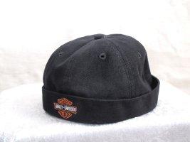 Harley Davidson Chapeau feutre noir coton