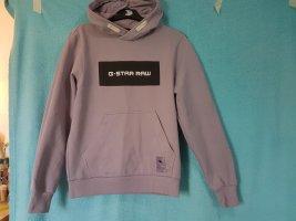 G-Star Raw Jersey con capucha púrpura