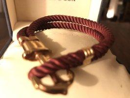 Kapten & Son Bracelet bordeaux-rose-gold-coloured