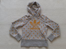 kaputzenjacke adidas neu gr. s 36 grau hoodie
