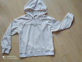 SheIn Hooded Sweatshirt white