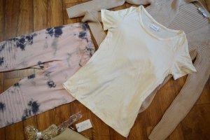 Nakd T-shirt beige chiaro-crema