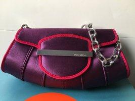 Karen Millen Abendtasche in lila pink