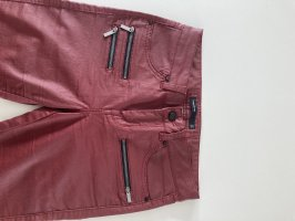 KAREN MILLEN Pantalone a sigaretta bordeaux