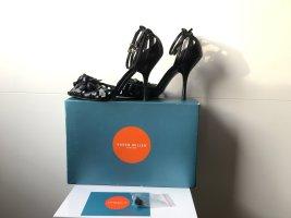 Karen Millen Schuhe aus Leder in schwarz Gr. 38 1/2