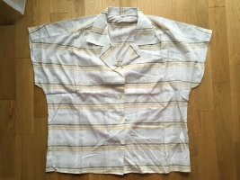karierte Vintage Bluse, Gr. 42