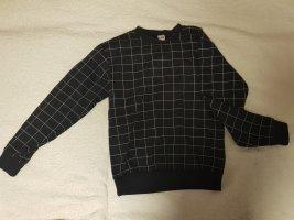 American Apparel Sweatshirt wit-zwart