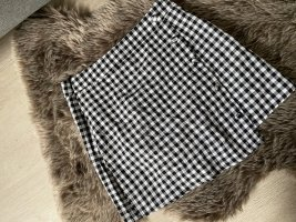 Asymmetry Skirt black-white