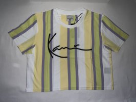 Karl Kani Signature Stripe Crop Wide Tee