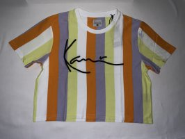 Karl Kani Signature Stripe Crop Wide Tee