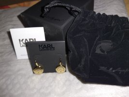 Karl Lagerfeld Gold Earring gold-colored