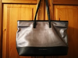 Karl Lagerfeld Shopper black-bronze-colored leather