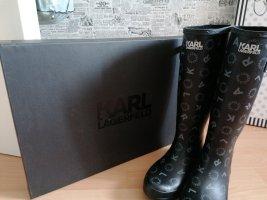 Karl Lagerfeld Botas de agua negro