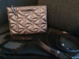 Karl Lagerfeld K/Kurl Crossbody Metallic bronze schwarz anthrazit Tasche