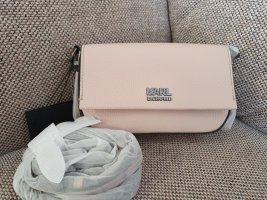 karl Lagerfeld K/Stone Crossbody rosa silber Umhängetasche tasche neu