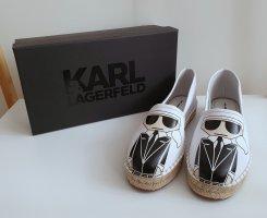 Karl Lagerfeld Kamini Espadrilles Slip On Schuhe Gr.41