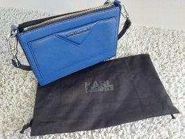 Karl Lagerfeld Torebka mini czarny-niebieski
